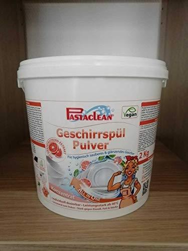 Pastaclean diskpulver koncentrat med grapefruktkärnextrakt – 2 kg