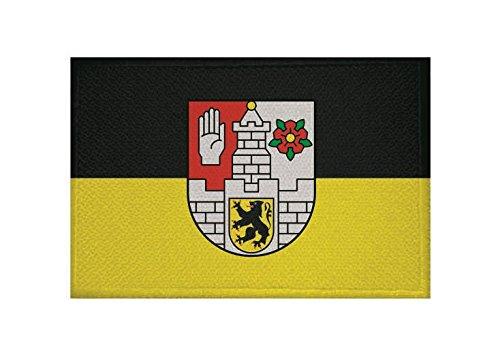 U24 Aufnäher Altenburg Fahne Flagge Aufbügler Patch 9 x 6 cm