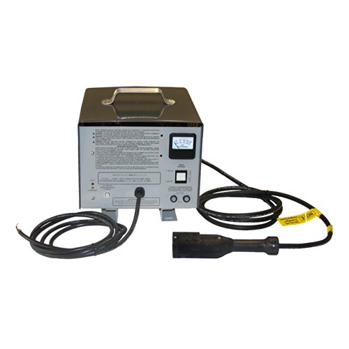 E-Z-GO 28435G01 Lester Battery Charger with Switchable Input, 48-volt