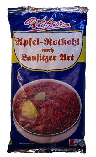 Weichaer Apfel-Rotkohl nach Lausitzer Art (500 g Beutel)