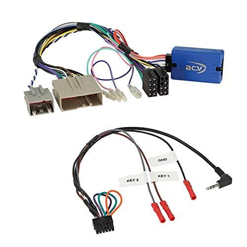 Stuurwiel afstandsbediening adapter interface LFB multilead geschikt voor Ford USA Taurus zonder OK toets compatibel met verschillende radio's