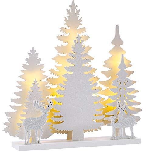 91/cm WeRChristmas Viktorianische Kiefer//Weihnachtsbaum in goldfarbenem Kunstharz-Topf