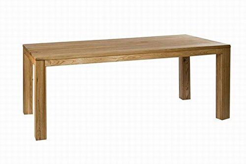 SAM® Esszimmer Holz Tisch Damar aus geölter Ulme 180 x 90 cm Esszimmertisch Holztisch Esstisch