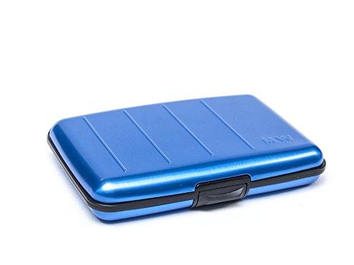 Metasafe Geldbörse RFID blau Sonderangebot