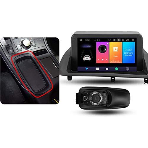 XBRMMM Android 9.1 Radio Coche para Lexus CT CT200 CT200h 2010-2018 Navegación GPS Estéreo para Coche Pantalla Táctil 9 Pulgadas Soporte Pantalla Espejo WiFi BT Control Volante/FM RDS DSP