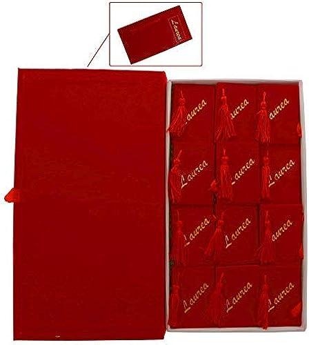 descuento online Pubpúrpurancio srl Libro Graduación 19x34 cm con con con 24 cajas bolsas para peladillas DETALLE  marca de lujo
