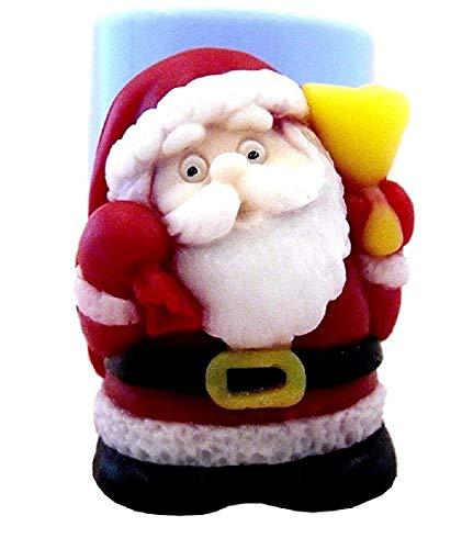 Inception Pro Infinite Stampo in Silicone per Uso Artigianale di Babbo Natale con Il Sacco dei Regali - Adatto Anche per Candele