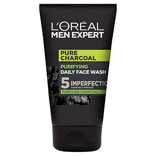 L'Oreal Men Expert Pure Carbon Purifying Daily Face Wash Cleanser 100ml