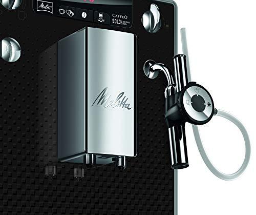 Melitta-Caffeo-Solo-Perfect-Milk-E957-101-Schlanker-Kaffeevollautomat-mit-Auto-Cappuccinatore-Automatische-Reinigungsprogramme-Automatische-Mahlmengenregulierung