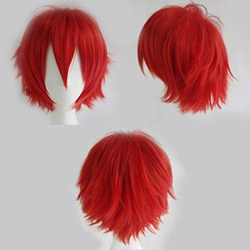 pelucas cosplay rojo on line