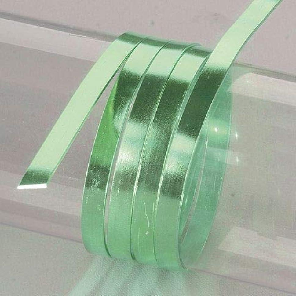 Efco Aluminium Wire Anodized Flat 1 x 5mm x 2m Light Green