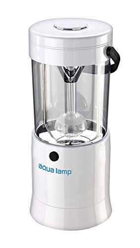 AQUA LAMP Earth Friendly Emergency LED Lantern Runs on Water and Salt, Uses No Batteries, Electricity, Sunlight or Liquid Fuel