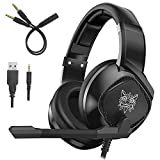 ONIKUMA K-19 Gaming Headset Compatible PS4 New Xbox one PC Mac, Over-Ear Headphones