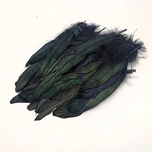 Sale Special Large discharge sale Price SushiSwap-50pcsRed Rooster Feathers DIY Party Natu Decor Wedding