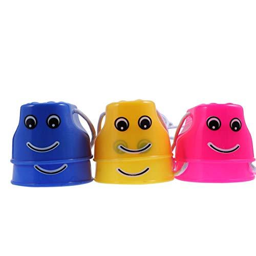 Vosarea 6 zancos para niños en maceta, juguete para el equilibrio, entrenamiento, correr, caminar, educación temprana, juguete al aire libre, jardín, escuela, guardería, color aleatorio