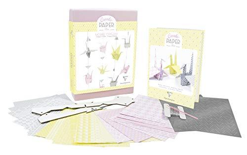 Clairefontaine Origami Creativ 'Caja para Adultos, Multicolor