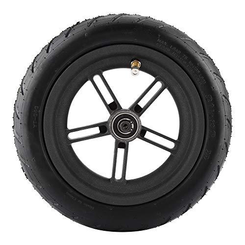 Rueda trasera, rueda trasera inflable, neumático antideslizante de scooter eléctrico hecho de caucho y aleación de aluminio