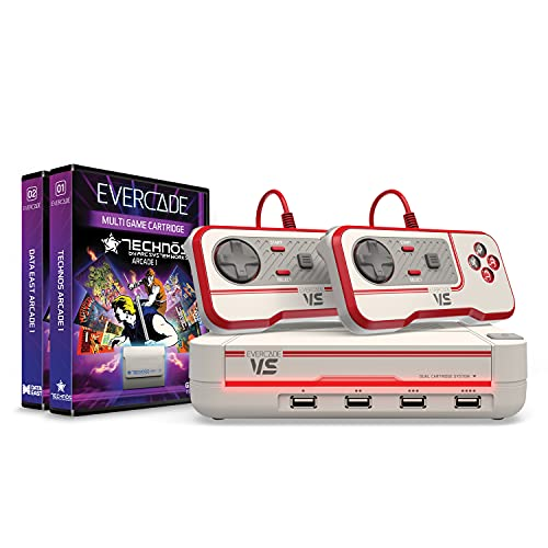 Blaze Evercade Vs Premium Pack +2 Vol White - Electronic Games
