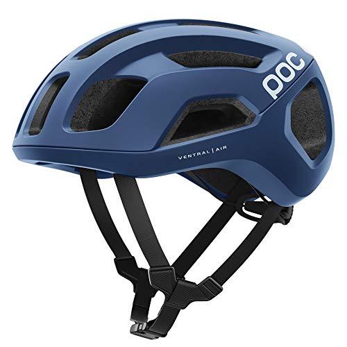 POC Sports Ventral AIR Spin Fahrrad Helm, Stibnium blau matt, Größe S