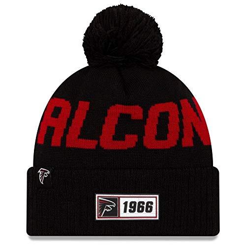 New Era Fútbol Americano NFL Teamsport Gorro de Invierno Unisex Atlanta Falcons...