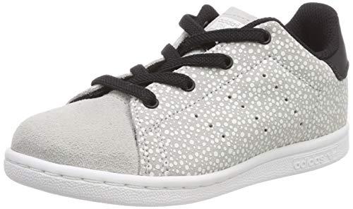 adidas Unisex Kinder Stan Smith EL I Sneaker, Grau (Grey/Grey/Core Black 0), 22 EU
