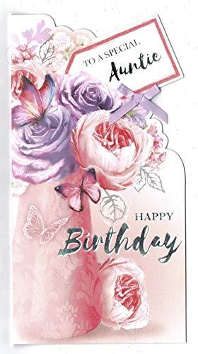 Tante Verjaardagskaart ' naar een speciale tante Gelukkige Verjaardag'
