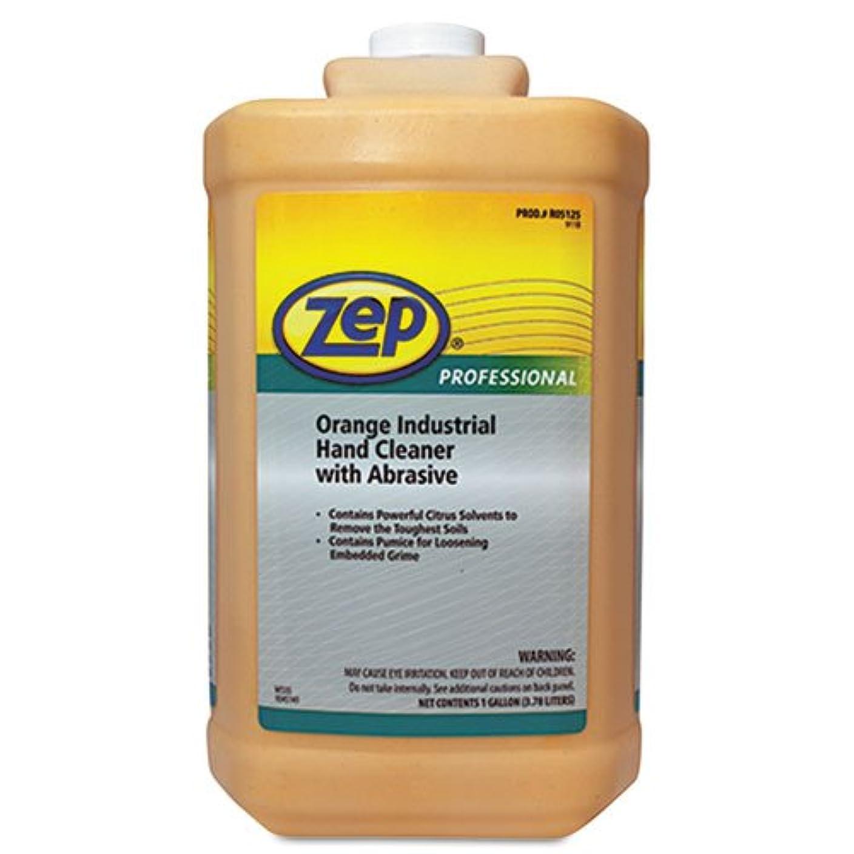 ヒープ郵便物先Zepプロフェッショナル工業ハンドクリーナー、オレンジ、1ガロンボトル1045070