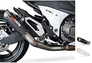 Motodak - Silenciador Scorpion RP-1 GP Carbono/Tapa Titanio Kawasaki Z800 (no homologado en Suiza)