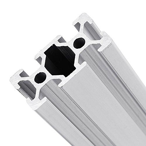 RFElettronica, Machifit 300/350/400/450mm 2040 T-Slot Profili In Alluminio Profilato con Scanalatura telaio estruso per stampante 3D e CNC, 400mm