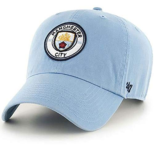 Official Licensed Manchester City F.C - 47 Brand Adult Baseball Cap (Clean UP - SK)