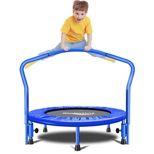 Image of Gardenature Trampoline-36 Portable Trampoline for Kids-Blue