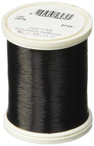 Mettler Transfil Monofilament Thread 100% Nylon 1,094 Yards-Smoke