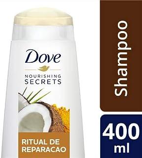 Shampoo Ritual de Reparação Dove Nutritive Secrets Frasco 400ml, Dove, Branco