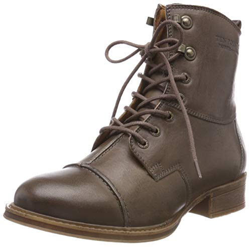 TEN POINTS Damen Pandora Stiefeletten, Grau (Taupe 356), 36 EU