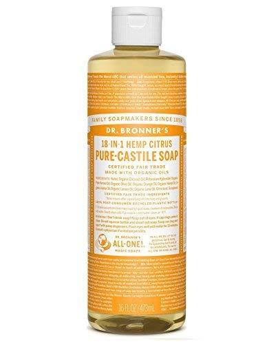 Dr. Bronner's Dr. Bronner's Organic Pure Castile Liquid Soap, Citrus Oil, 16 ounces