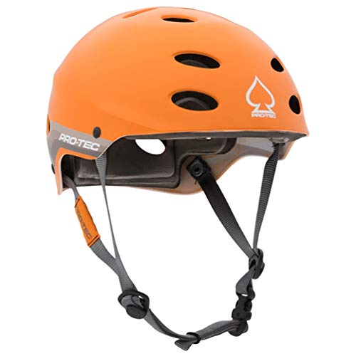 Pro-Tec Ace Water Helmet, Satinc Orange Retro, M