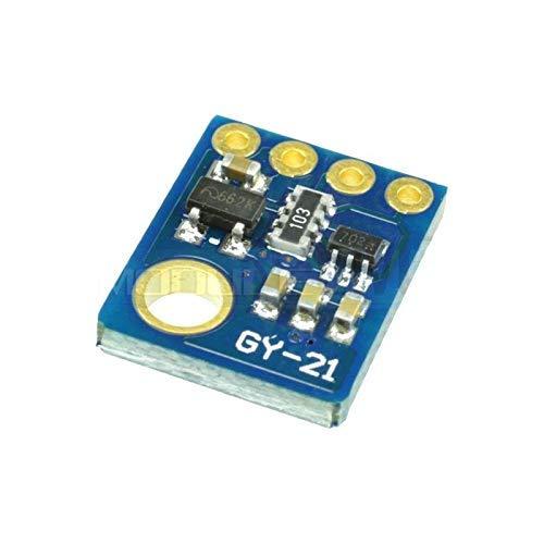 ZTSHBK Si7021 GY-21-Modul Industrielles hochpräzises Feuchtigkeitssensor I2C IIC-Schnittstellenmodul für Arduino Low Power CMOS IC-Modul