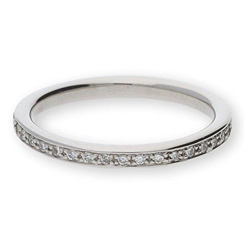 JuwelmaLux ring witgoud 585/000 met briljant 0,22 ct. JL30-07-0170 maat 52