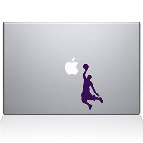 Adesivo adesivo de vinil The Decal Guru Slam Dunk MacBook Pro de 13 polegadas (2015 e mais antigo) - lavanda (1173-MAC-13P-LAV)
