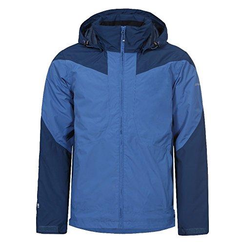 ICEPEAK Skijacke Herren Winterjacke Wasserdicht Lanzo, Farbe:Blau, Bitte Größe wählen:58