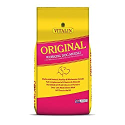 Vitalin Original With Muesli 2.5kg Foods - Dog - Dry Working / Racing