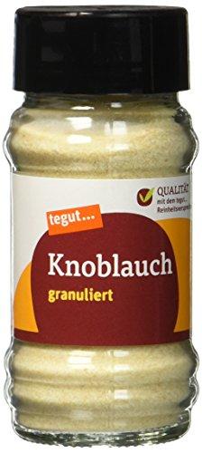 tegut... Knoblauch granuliert Gewürz, 1 x 55 g