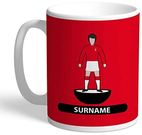 Personalised Nottingham Forest FC Player Figure Mug