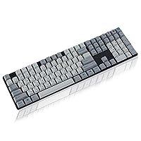 メカニカルキーボードのキーキャップ 108 PBT染料昇華染料サブキーセットについてANSI 108 87 61 MXメカニカルキーボード (Color : 108)