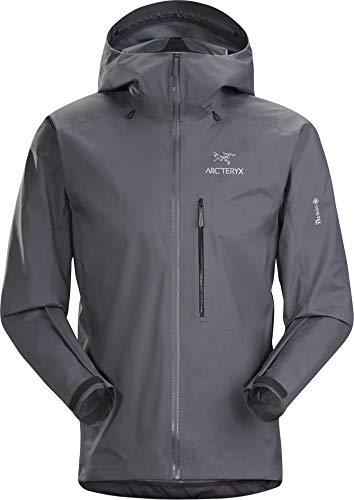 Arc'teryx Herren Alpha FL Jacket RegenjackeGrau/Schwarz M