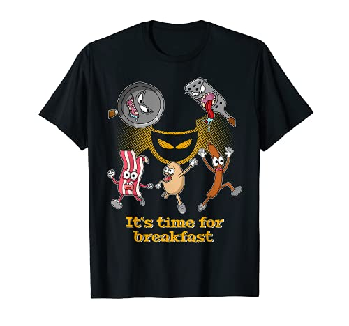 It's time for breakfast - funny horror T-Shirt