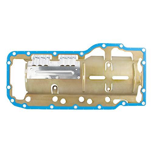 BOXI OS30709R Oil Pan Gasket Set Replacement for 07-09 Chrysl-er Aspen / 00-10 Dodg-e Dakota Durango Ram 1500/06-09 Commander / 99-09 Grand Cherokee / 06-07 Raider / 11-13 Ram 1500/2011 Ram Dakota