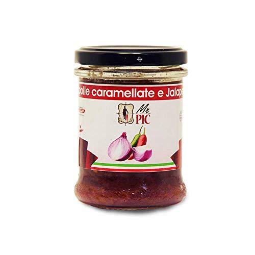 Salsa di Cipolle Caramellate & peperoncino Jalapeño (180 g) - Mr PIC: il Peperoncino Toscano di alta qualità - Carmazzi: la più ampia linea di prodotti piccanti in Italia