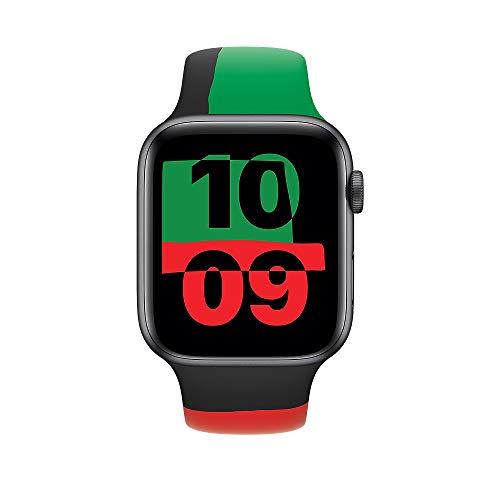 Apple Watch (40mm) Sportarmband, Black Unity - Regular