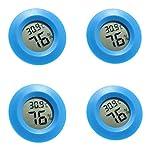 CUTICATE 4pcs Termometro Igrometro Igrometro Rettili Anfibi Terrari